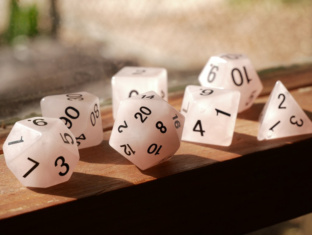 dice can help with multiplication learning