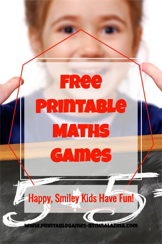 Fun Free Printable Multiplication Games to Learn the Times Tables and have fun.
