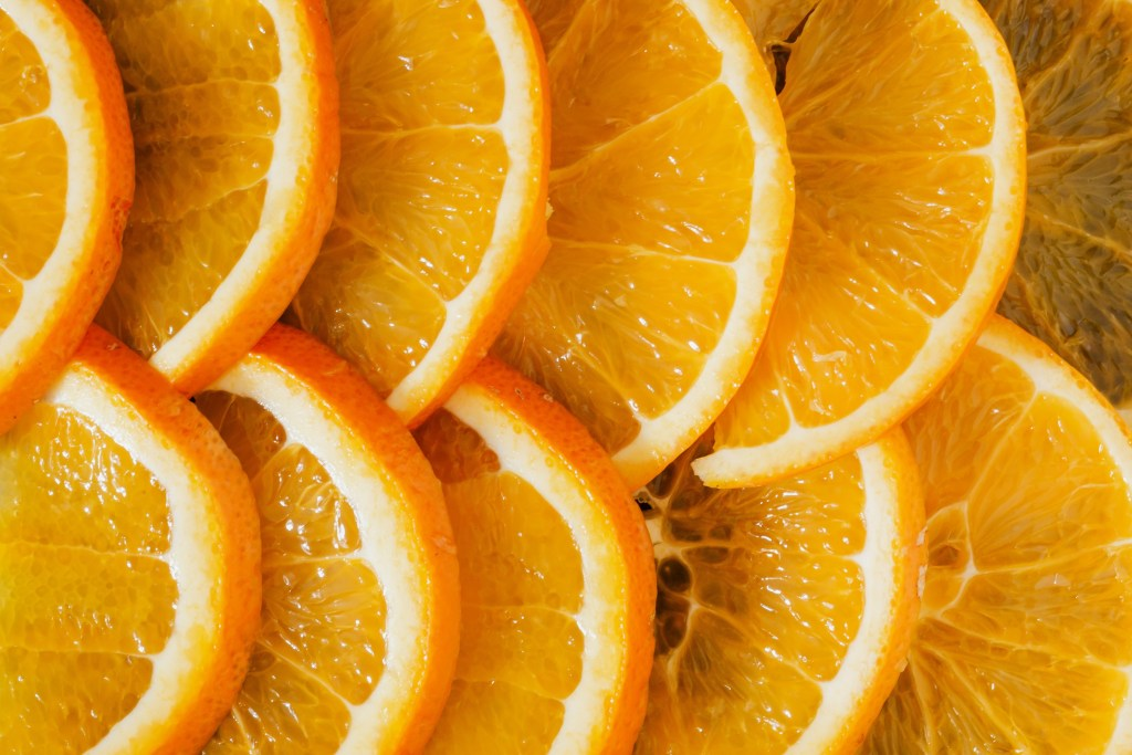 oranges sliced. Let them eat - why fun hands-on ways to teach multiplication is good