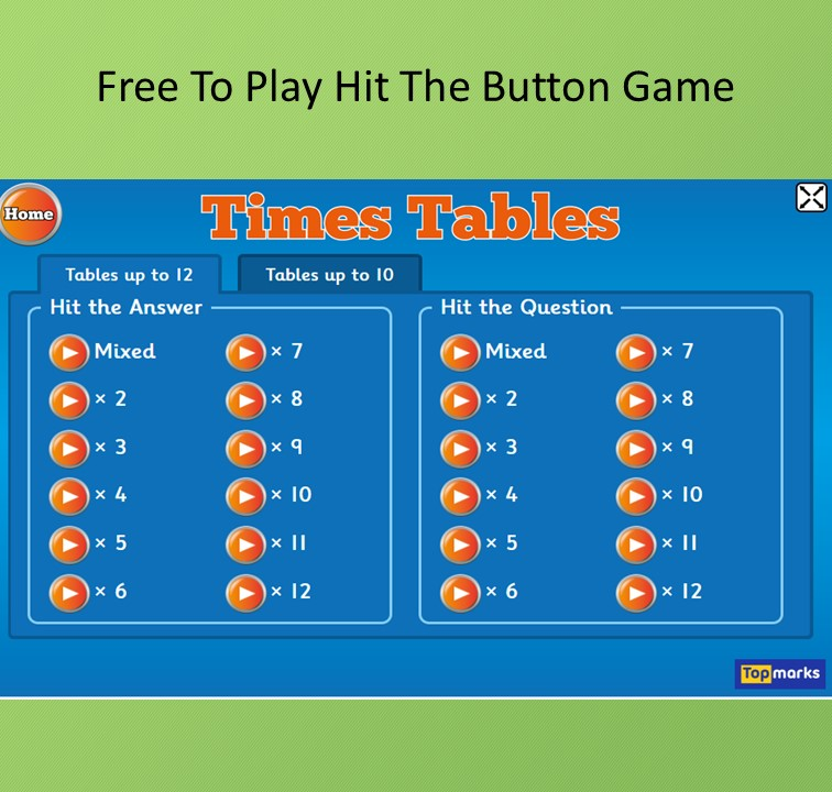 times table games for kids