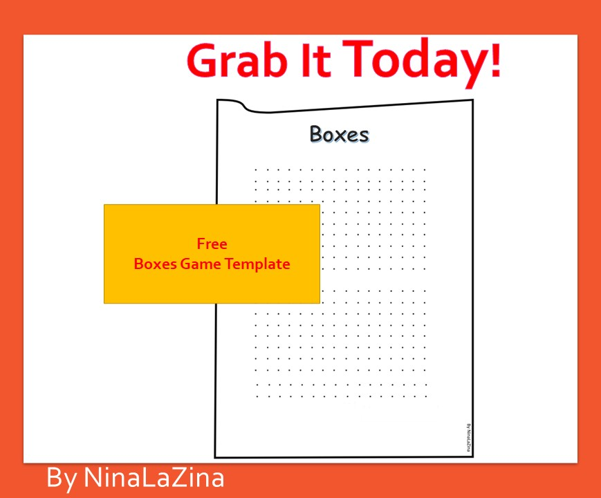 Free Boxes Game Template