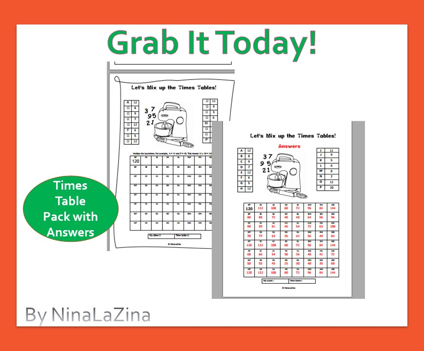 Free multiplication code worksheet for kids to crack the code and write the answers.